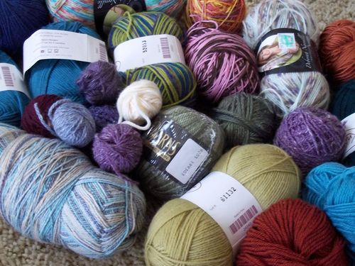Food and yarn 010