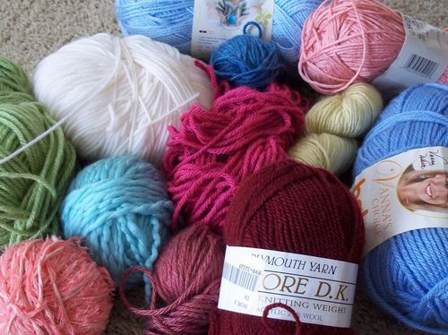 Food and yarn 011