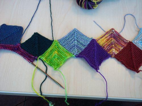 Sock yarn blanket 008