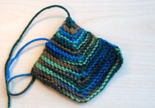 Sock yarn blanket 006