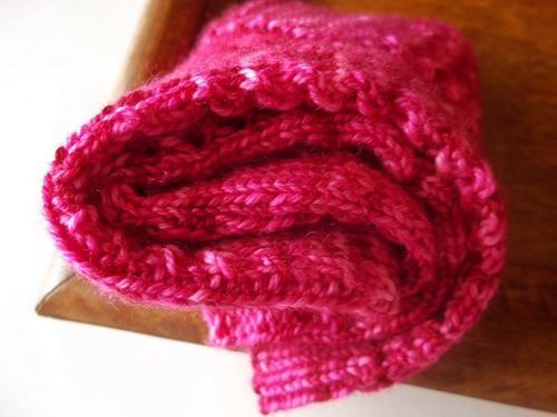 Pink socks 010