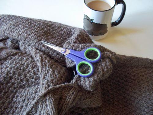 Upcycled yarn 014