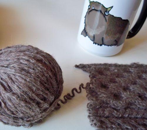 Upcycled yarn 017
