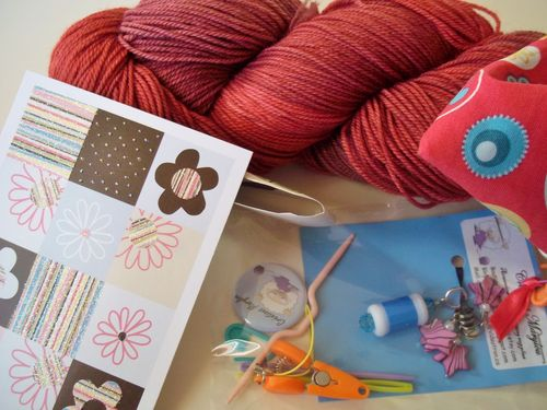 Yarn and gifts 014