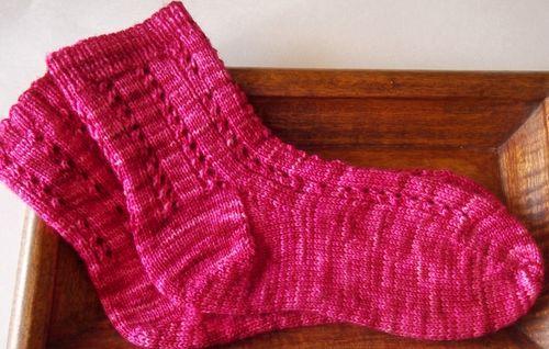 Pink socks 001