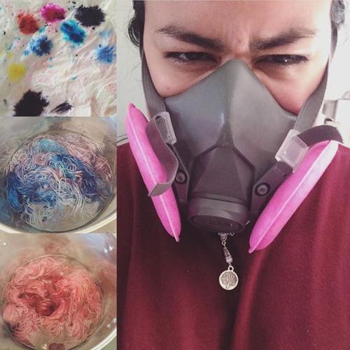 Time to dye